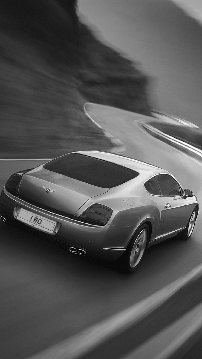 Bentley Motors Continental GT for Samsung Galaxy S4, Black and White, fondos galaxy s4, fondos de pantalla galaxy s4, sfondi samsung galaxy s4, hintergrund, ????, thumb
