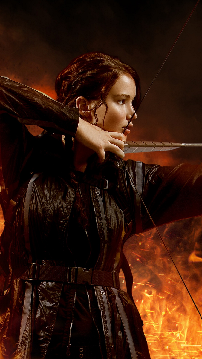 Katniss Everdeen, Entertainment Backgrounds, wallpapers for Samsung Galaxy S4, fondos galaxy s4, fondos de pantalla galaxy s4, sfondi samsung galaxy s4, hintergrund, thumb
