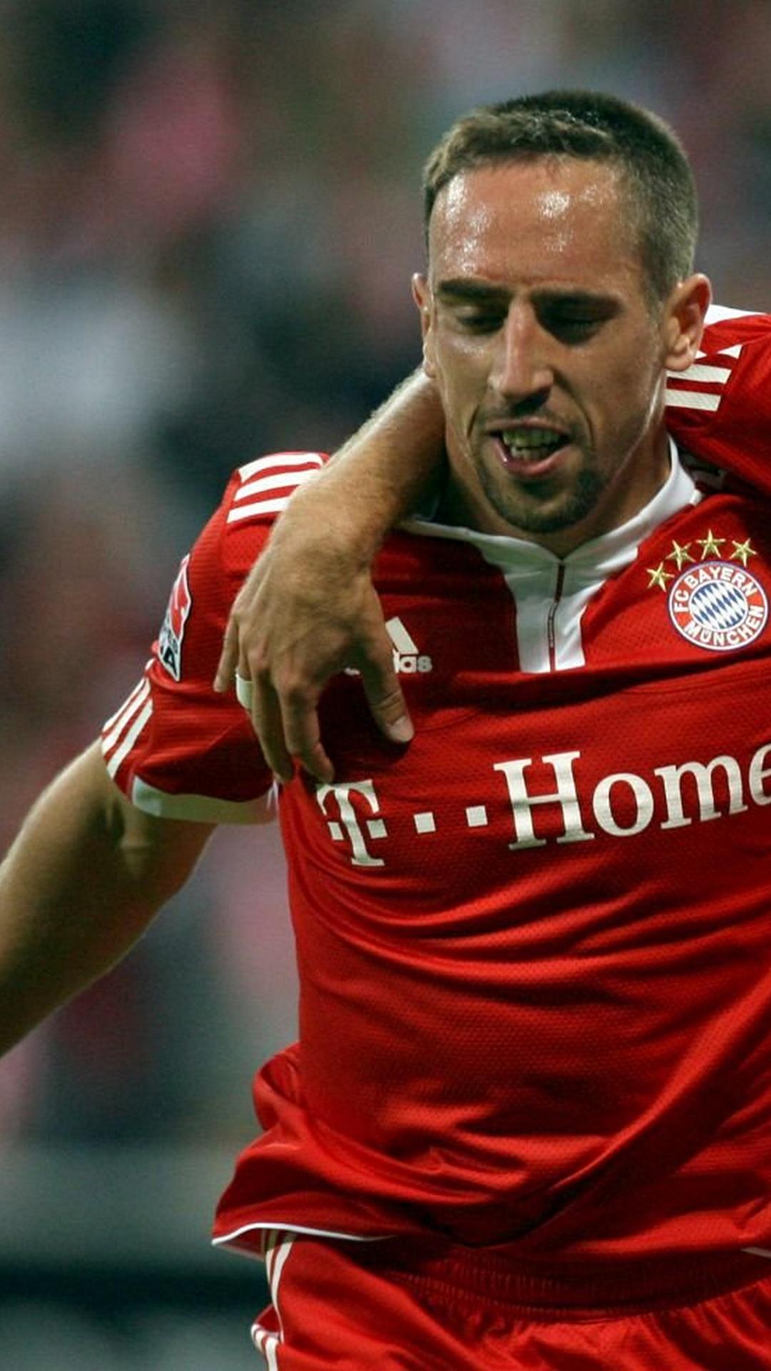 FC Bayern Munich, Franck Ribery, Football, Soccer, fondos galaxy s4, fondos de pantalla galaxy s4, sfondi samsung galaxy s4, hintergrund, ????, full size 1080x1920