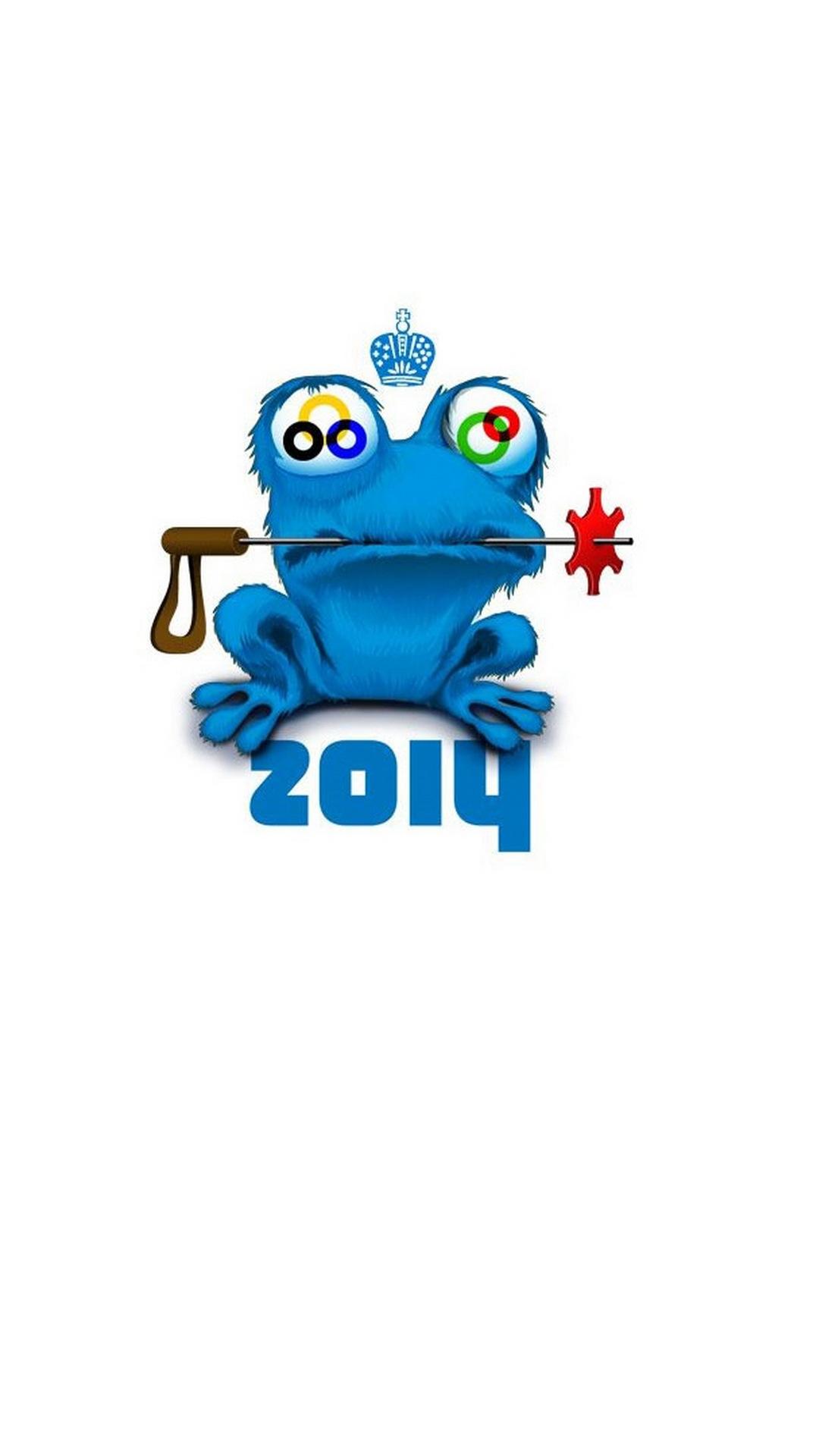 Olympic games, Sochi 2014, Mascot, Logo, Talisman, Galaxy S4 Wallaper full size 1080x1920