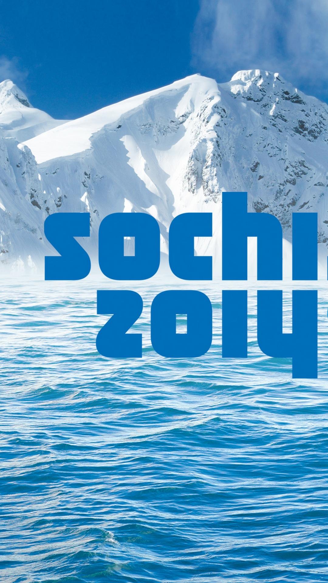Sochi 2014 Winter Olympics, Logo, Sports, Galaxy S4 Wallaper full size 1080x1920