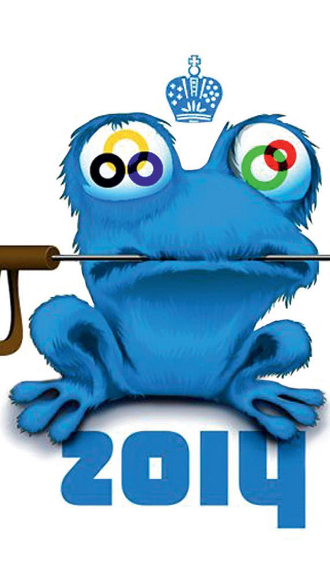 Galaxy S4 Wallpaper, Olympics, Olympic games, Sochi 2014, Mascot, Talisman full size, 1080x1920, Samsung Galaxy S4