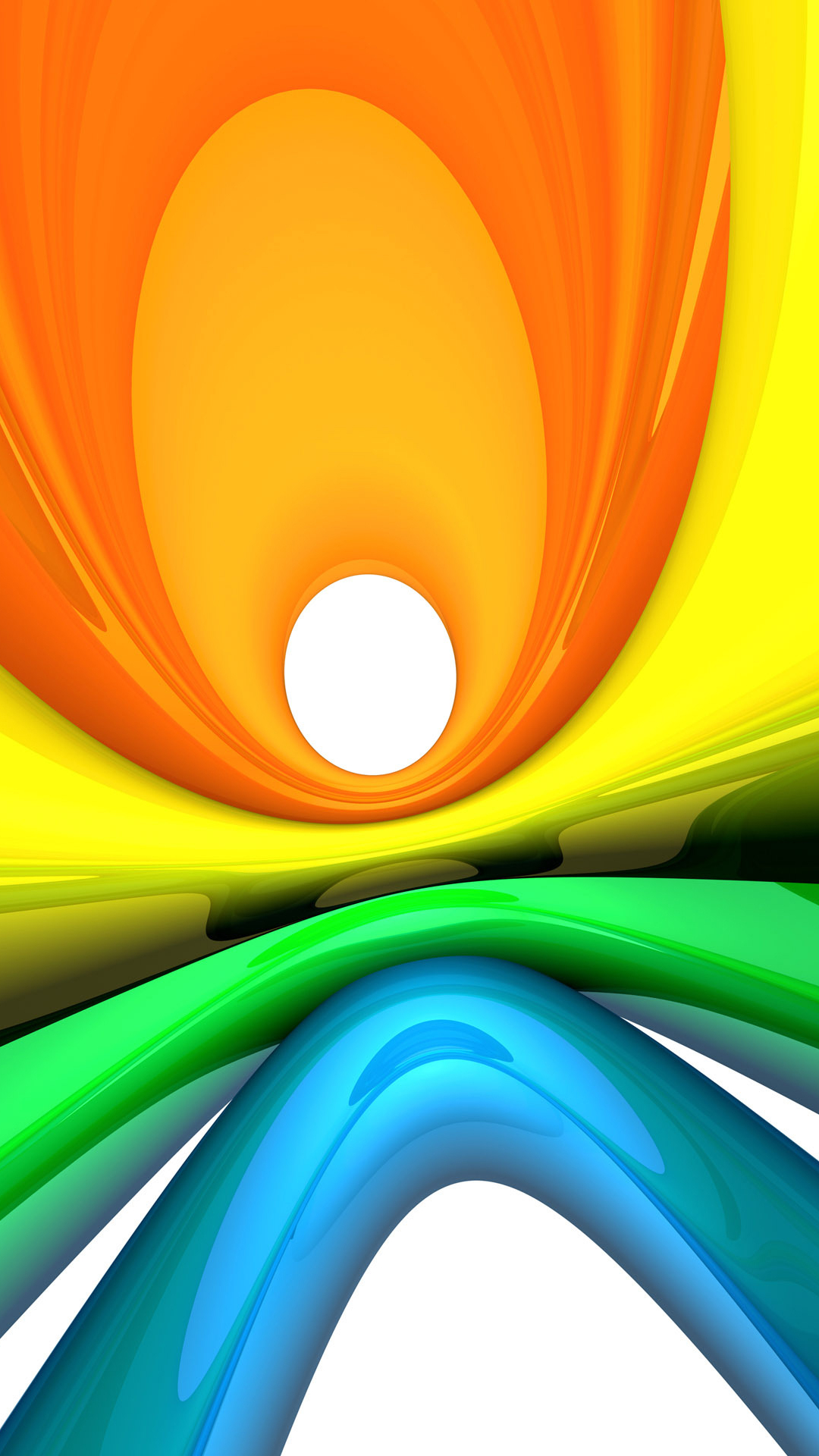 Galaxy S4 Wallpaper With Abstract Colorful Design 1080x1920