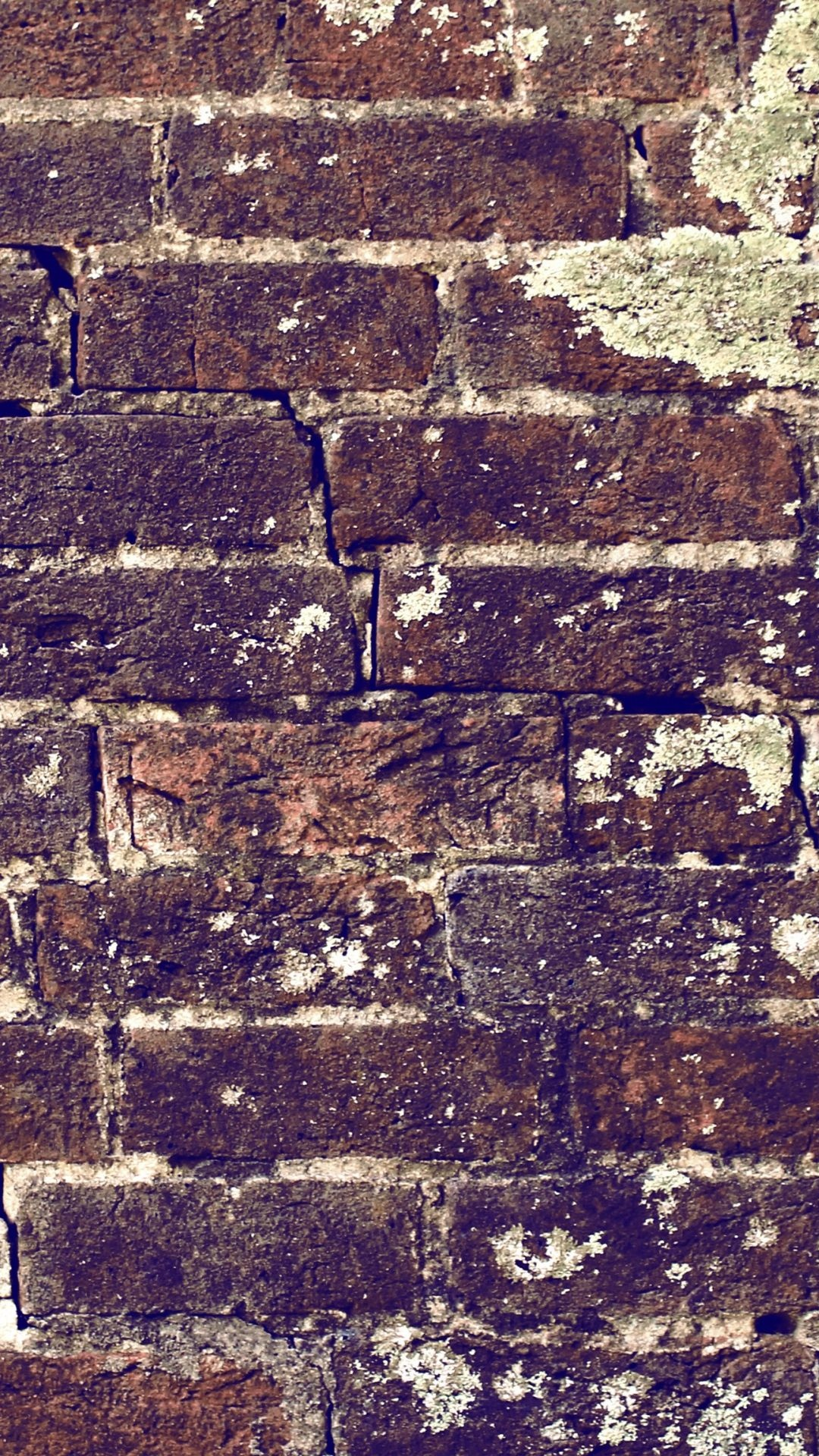 Galaxy S4 background with brick wall pattern in 1080x1920